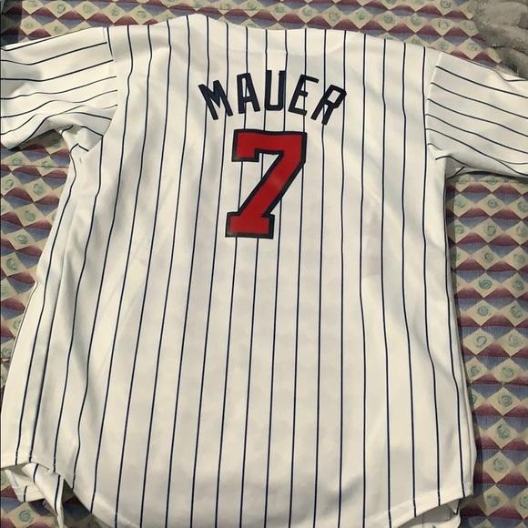 cc5317c2 Majestic Shirts   Joe Mauer Minnesota Twins Youth Jersey   Poshmark